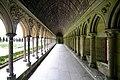 The cloister - Mont St Michel (32883010376).jpg