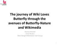 The journey of Wiki Loves Butterfly through the avenues of Butterfly-Nature and Wikimedia.pdf