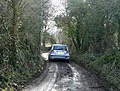 The muddy end of Ham Lane - geograph.org.uk - 1765204.jpg