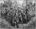 These men have earned the bloody reputation of being skillful jungle fighters. They are U.S. Marine Raiders gathered... - NARA - 520643.tif