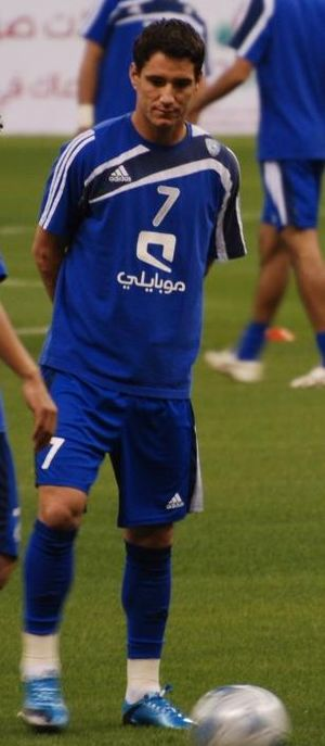 Thiago Neves - Thiago playing for Al-Hilal in 2010