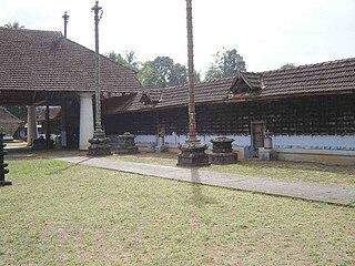 Thiruvegappura village in Kerala, India