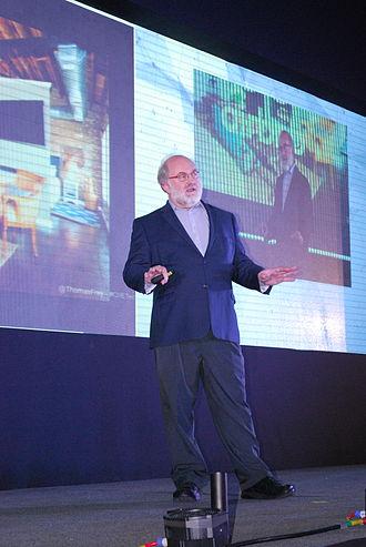 Thomas Frey - Frey presenting at the Tec de Monterrey, Mexico City campus