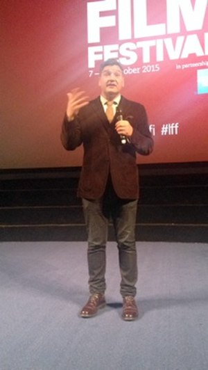 Thomas Bidegain - At 2015 London Film Festival presenting 'The Cowboys'