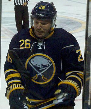 Thomas Vanek - Vanek pictured during his time with Buffalo