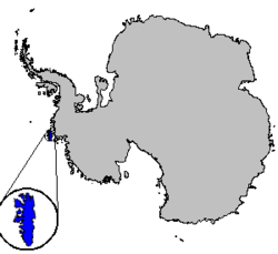Location of Thurston Island