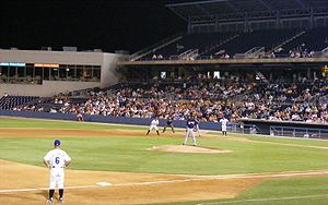 Tides vs Clippers at Harbor Park at night.jpg