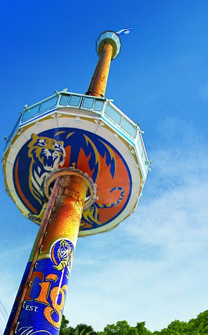 Tiger Sky Tower - Image: Tiger Sky Tower Day