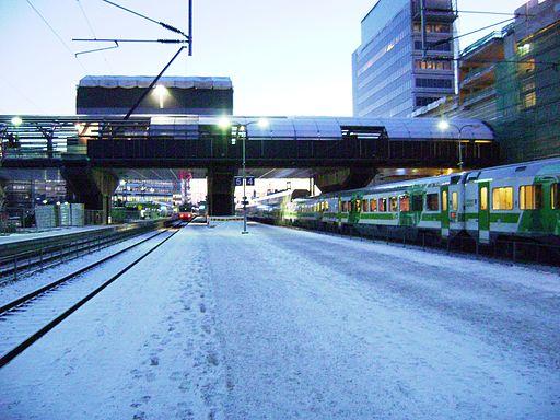 Tikkurilan rautatieasema 2014-01-13