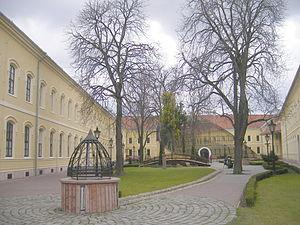 Selye János University - Image: Tiszti pavilon 2