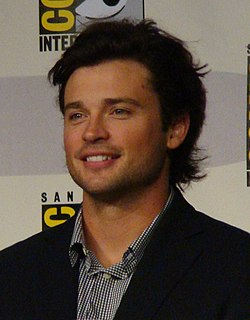 Tom Welling på Comic Con 2010.