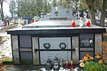 Tomb of Chomiński family at Central Cemetery in Sanok 1.jpg