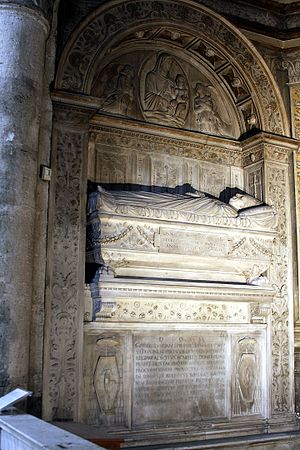 Jorge da Costa - Tomb of Cardinal Jorge da Costa, Santa Maria del Popolo, Rome.