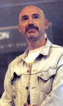 Tony Levin during a visit to Caracas (Venezuela), 1993.