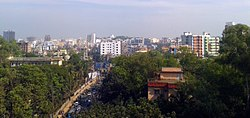Skyline of Chittagong