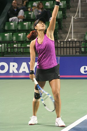 Chinese Tennis player Li Na on the opening day...