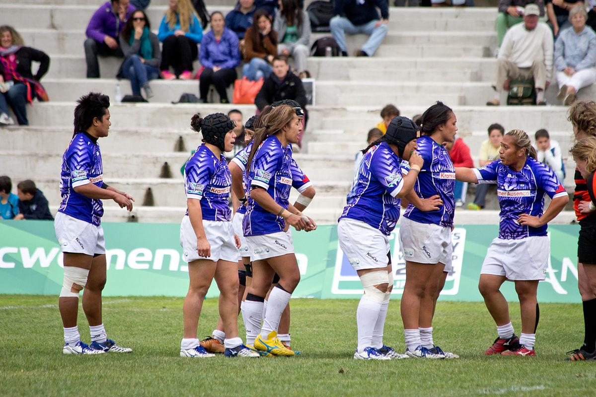 Samoa women's national rugby union team - Wikipedia
