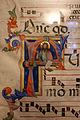 Toscana, iniziale F con san giovanni battista, xiv secolo 02.JPG