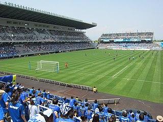 Ekimae Real Estate Stadium Japanese football stadium
