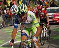 Tour de France 2011, alpedhuez, basso en leipheimer (14869997695).jpg