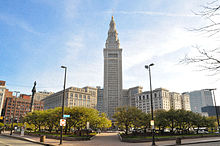 Renaissance Cleveland Hotel Right Connected To Terminal Tower