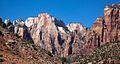 Towering peaks of Zion (8078517163).jpg