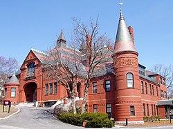 Belmont Town Hall.