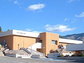 New Mexico State University Alamogordo - Image: Townsend Library New Mexico State University Alamogordo 2