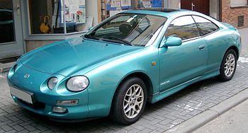 Toyota Celica 2.0 GT (ST202) shown in Bright T...