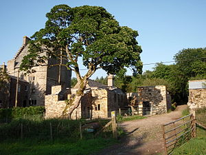 Grade II* listed buildings in Eden District - Image: Track by Clarghyll Hall (geograph 1946884)