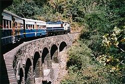 Train shimla