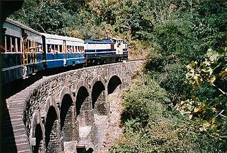 Shimla district - Kalka-ShimlaWERA train