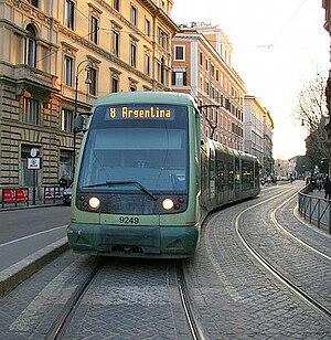 Trams in Rome - Image: Tram Roma?