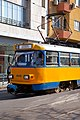 Tram in Sofia near Central mineral bath 2012 PD 061.jpg