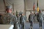 Transfer of Authority on Bagram Airfield, Afghanistan. DVIDS289561.jpg
