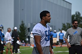 Travis Lewis at the 2012 Detroit Lions Training Camp.jpg