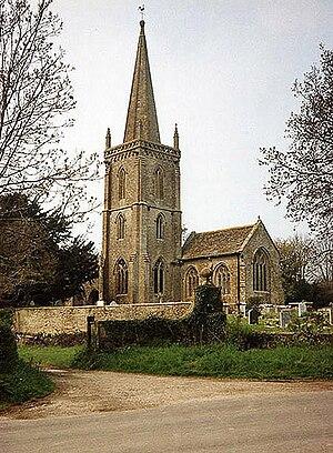 Trent, Dorset - Image: Trent, St Andrew's Church geograph.org.uk 88714