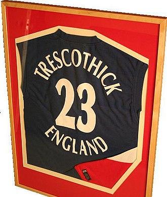 Marcus Trescothick - Trescothick's England ODI shirt
