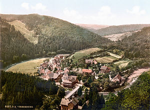 Treseburg - Image: Treseburg 1900