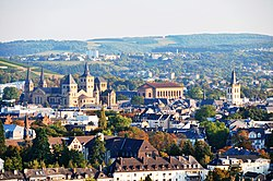 September 2009 view over Trier