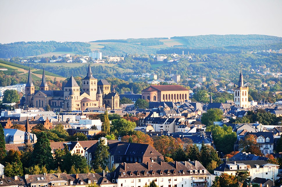 View over Trier