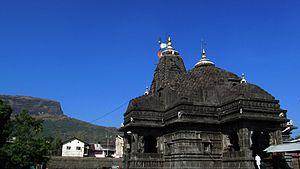 Trimbakeshwar Shiva Temple - Image: Trimbakeshwar nj
