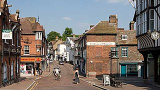 Tring market town and civil parish in the Borough of Dacorum Hertfordshire, England