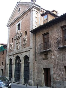 Cervantes was buried at the Convent of the Barefoot Trinitarians in Madrid. (Source: Wikimedia)