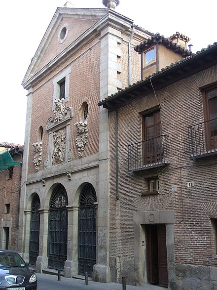 Cervantes was buried at the Convent of the Barefoot Trinitarians in Madrid - Miguel de Cervantes