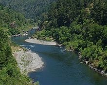 List Of Rivers Of California Wikipedia - Rivers in california map