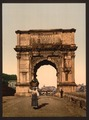 Triumphal Arch of Titus, Rome, Italy-LCCN2001700931.tif