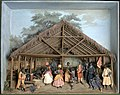 Tropenmuseum Royal Tropical Institute Objectnumber A-6371c Diorama van een Du feest.jpg
