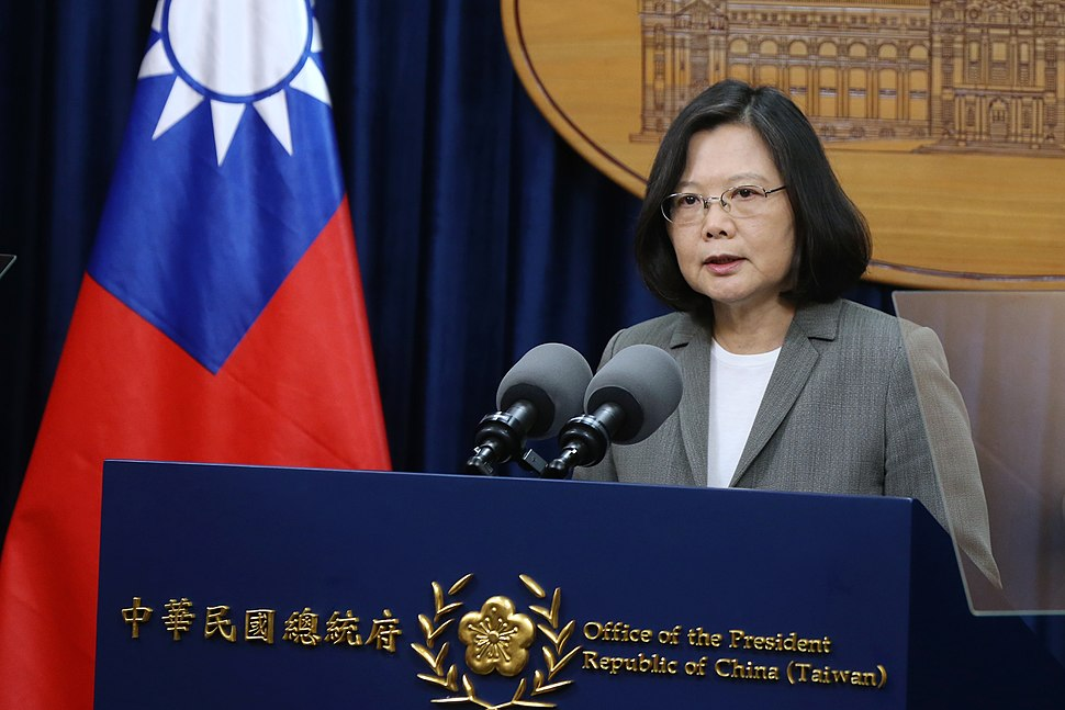Tsai Ing-wen 20170613