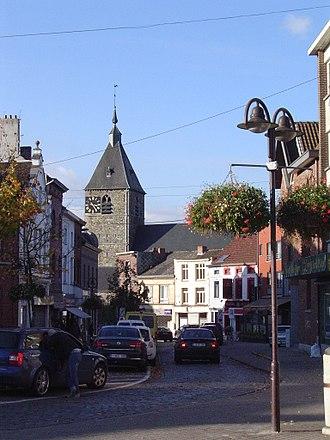 Tubize - Image: Tubize, centre ville